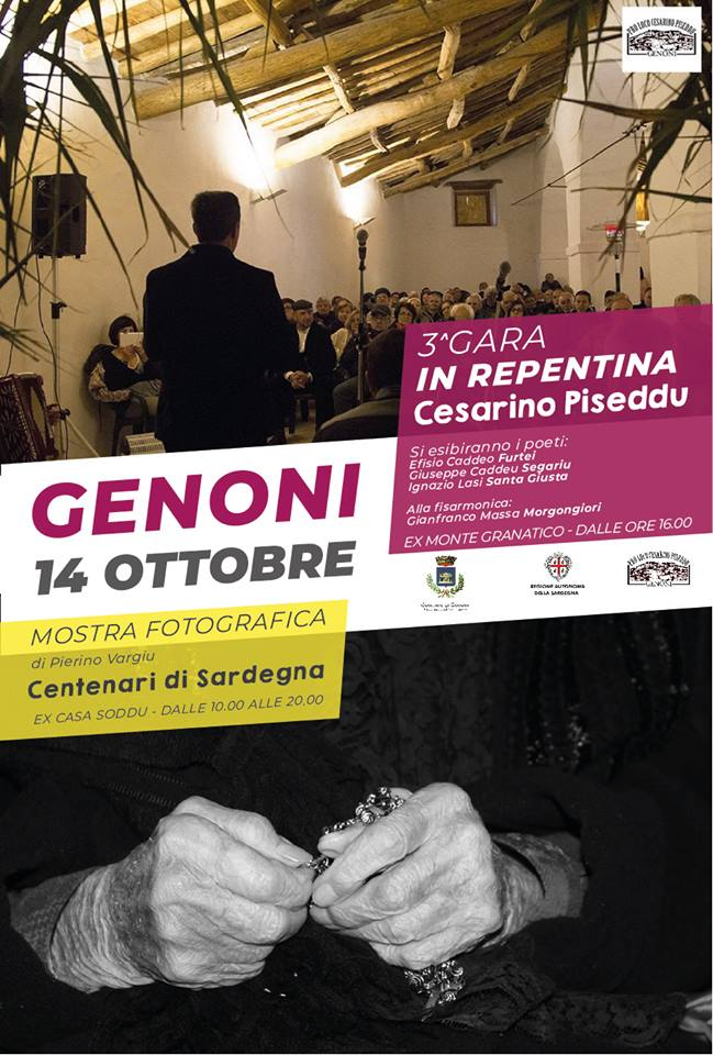 Gara in repentina Cesarino Piseddu
