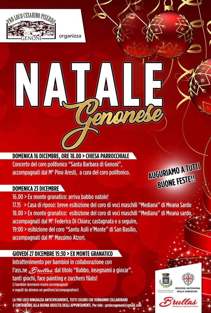 Programma del Natale Genonese 2018