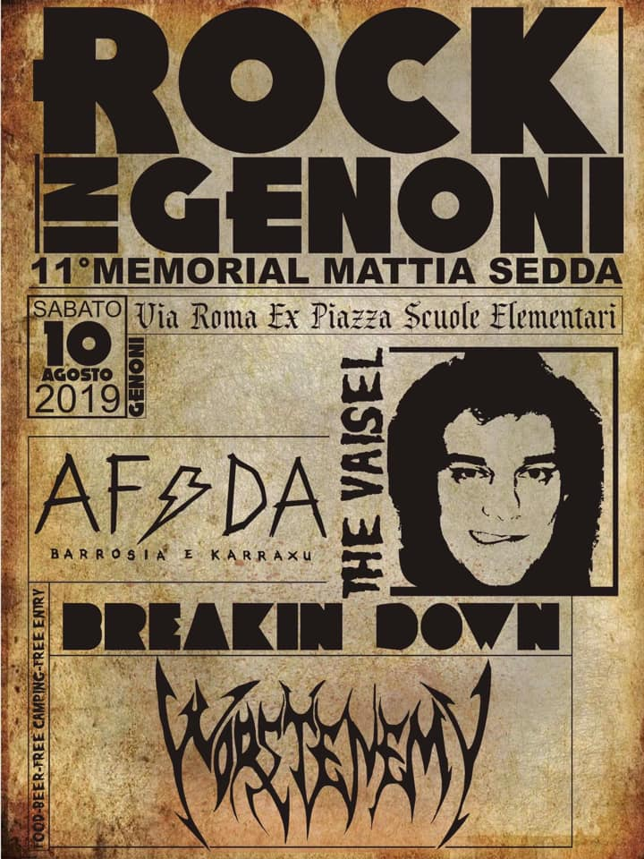 Rock in Genoni 2019