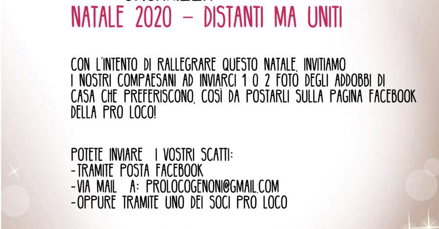 Locandina Natale social 2020
