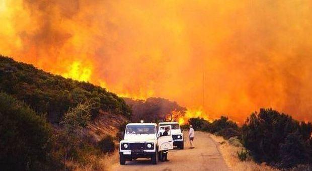 Incendio Sardegna